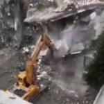 建設現場衝撃映像