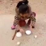 少女の凄技