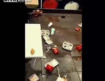 汚すぎるマクドナルド