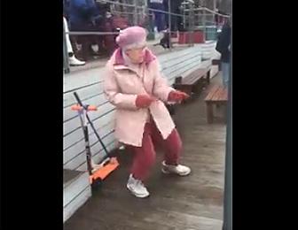ダンスがカッコイイおばあちゃん