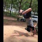 オートバイジャンプ失敗
