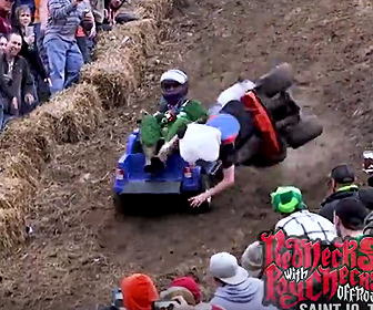 Barbie Jeep Downhill Racing