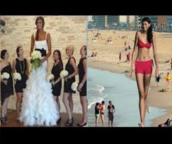 実在した高身長な女性に世界が震えた