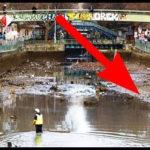 【動画】干上がった水域から出てきた信じられない掘り出し物