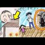 【動画】怖い…子供が描いた闇深い絵の謎5選