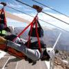【動画】世界最長2800m 時速150キロのジップラインが凄過ぎる!