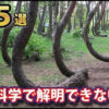 【動画】未だに解明できていない奇妙な自然現象5選!