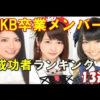 【動画】AKB卒業メンバーのその後…現在は? 成功者ランキング 13選